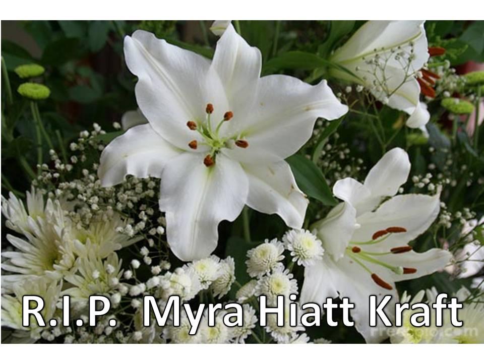 Myra Hiatt Kraft