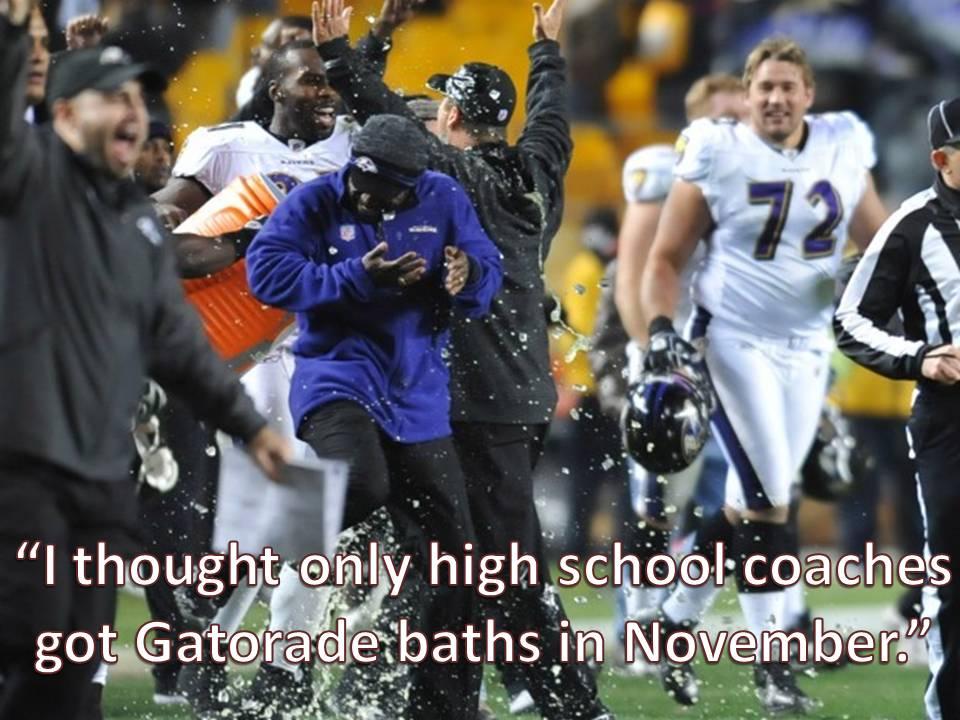Baltimore Ravens Head Coach Jim Harbaugh