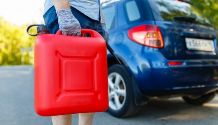 Precautions for Carrying Gas Cans